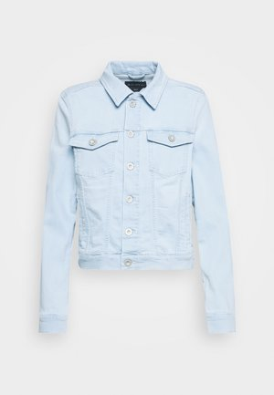 JACKET BUTTON CLOSURE LONG SLEEVES REGULAR LENGTH - Jeansjakke - light-blue denim