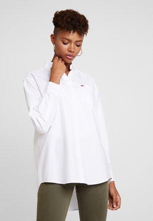 CLASSICS - Button-down blouse - white
