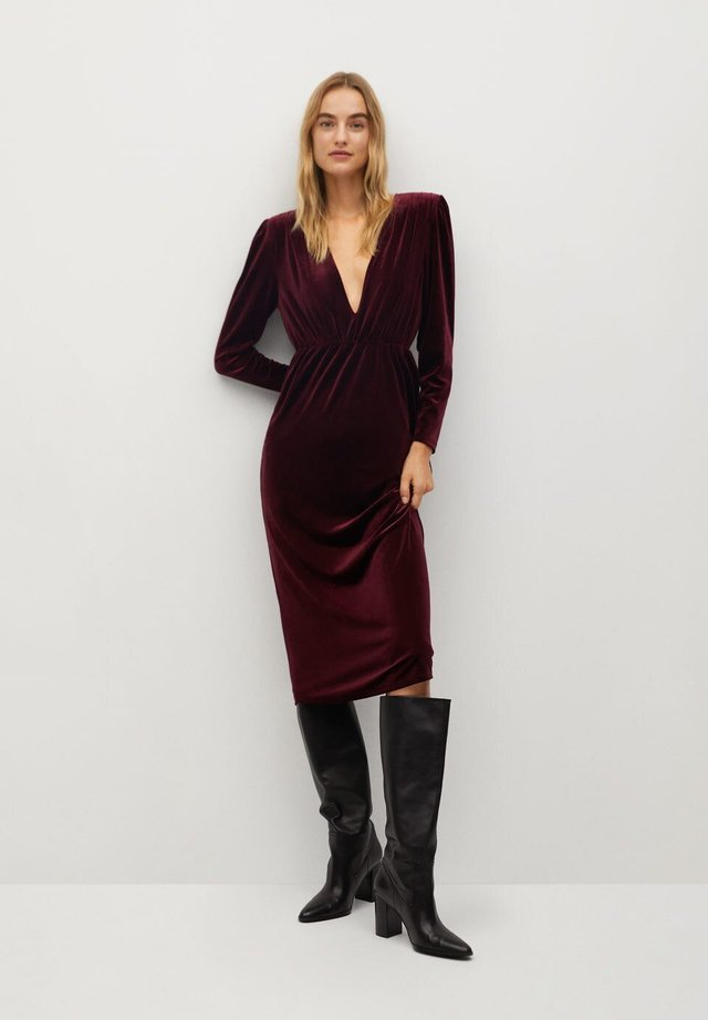 FIGUE-I - Day dress - burdeos