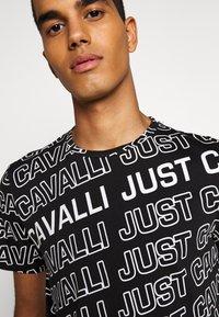 Just Cavalli - Print T-shirt - black variant - 5