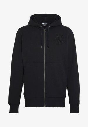 ZIP HOODIE - Zip-up hoodie - caviar
