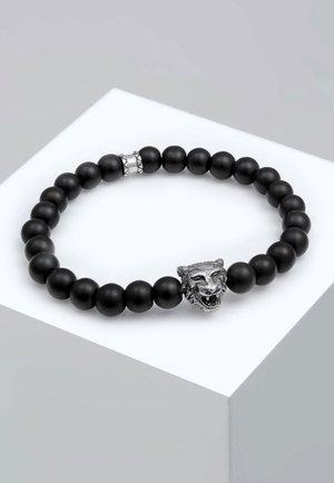 TIGERKOPF - Bracelet - black