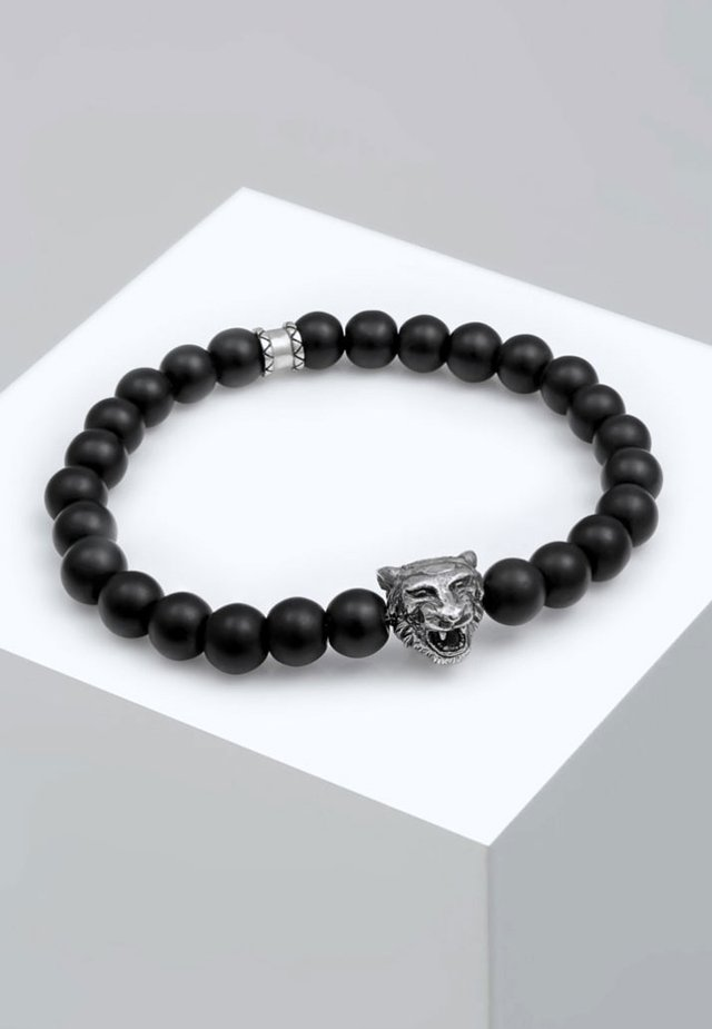 TIGERKOPF - Bracelet - black