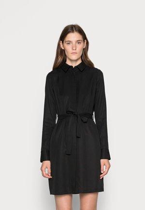 PERI DRESS  - Shirt dress - black