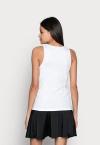 Calvin Klein Jeans - MICRO BRANDINGTANK - Top - white - 2