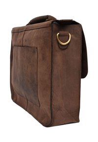 Leabags - OMAHA - Aktetas - light brown