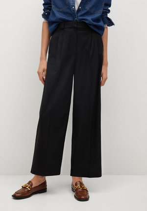 TYRA - Trousers - noir