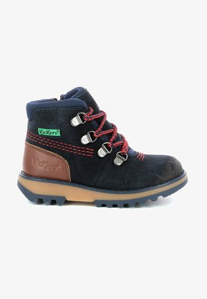 BOTTILLONS - Lace-up ankle boots - marine