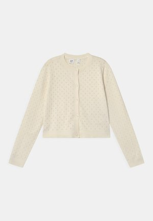 GIRL  - Cardigan - ivory frost