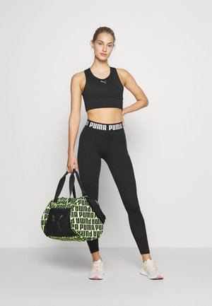BARREL BAG - Sporttasche - black/bright gold