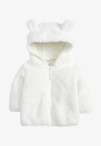 Fleecová bunda - off-white