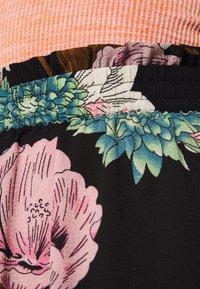ONLY - ONLNOVA LUX LONG SKIRT  - Maxi skirt - black - 4