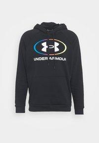 Under Armour - RIVAL LOCKERTAG - Zip-up hoodie - black - 5