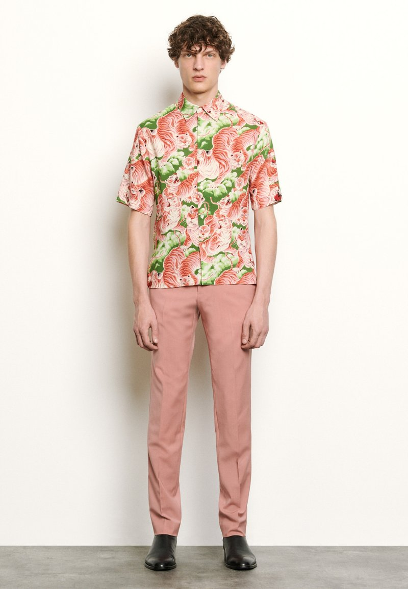 sandro - TIGER CHEMISE CASUAL - Shirt - rose