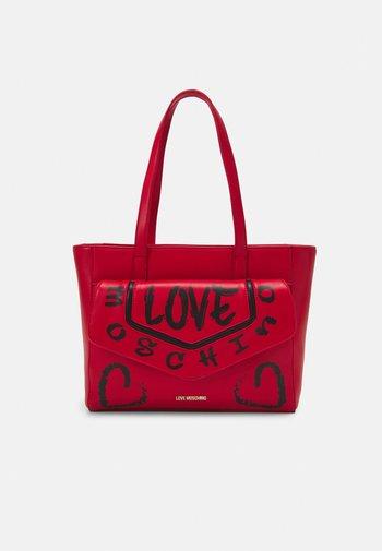 GRAFFITI - Handbag - red