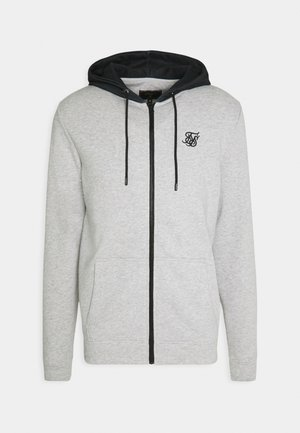 ZIP THROUGH HOODIE - Zip-up hoodie - grey