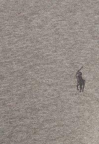 Polo Ralph Lauren - CUSTOM SLIM FIT JERSEY CREWNECK T-SHIRT - Basic T-shirt - metallic grey heather - 2