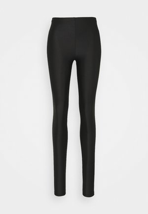 ONLSAINT SHINY - Leggings - Trousers - black