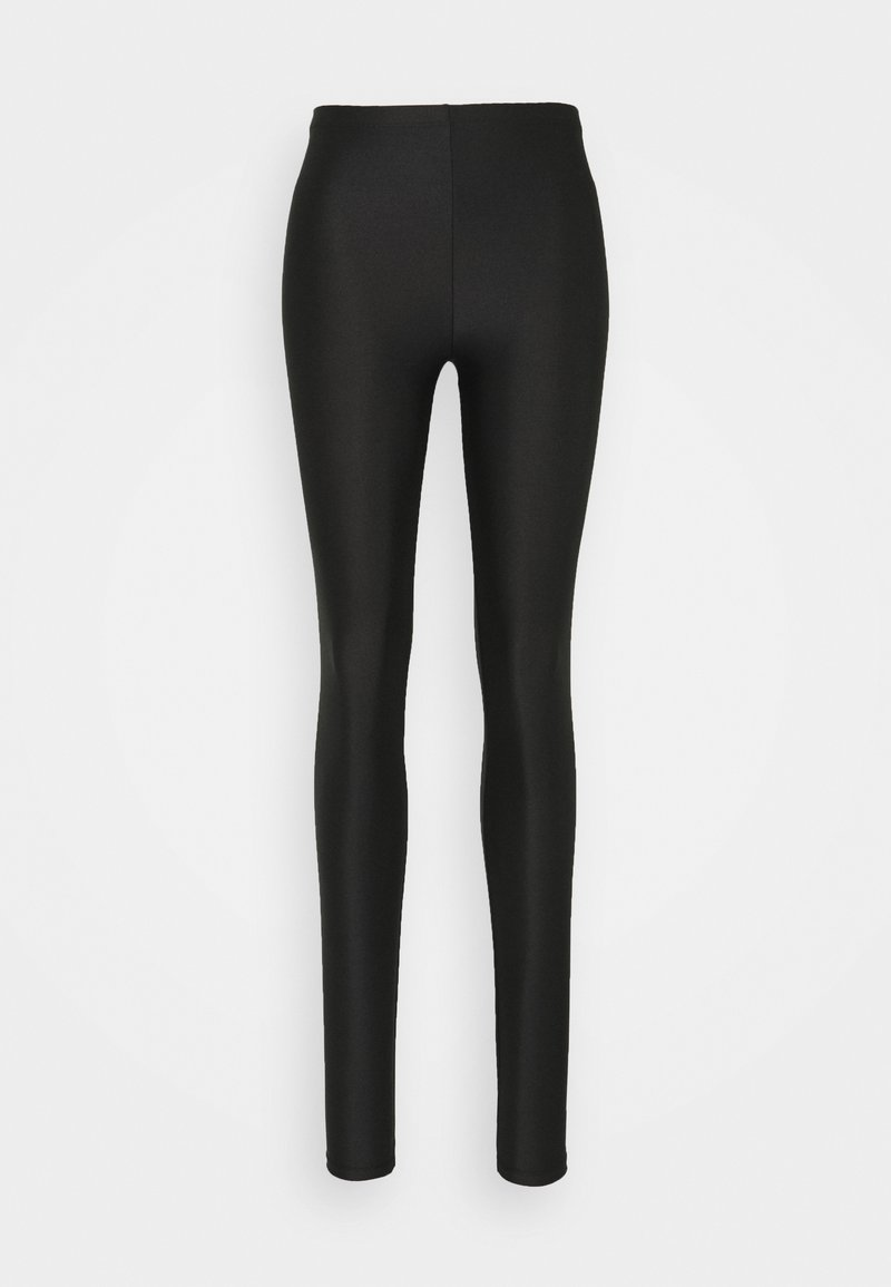 ONLY - ONLSAINT SHINY - Leggings - Trousers - black