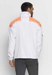 Columbia - SANTA ANA ANORAK - Veste coupe-vent - white/brigt nectar/clear water - 2