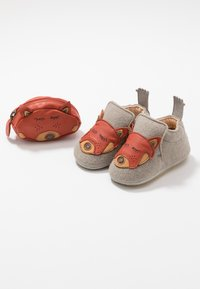 Easy Peasy - DOUBLU/PANDAMY GIFT SET - First shoes - plume/brique - 6