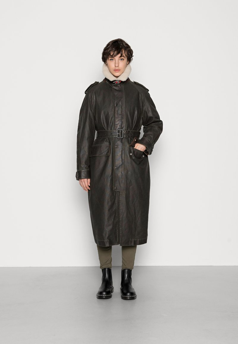 Diesel - TACCY - Classic coat - black