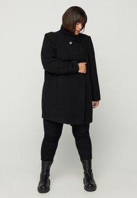 Zizzi - Short coat - black - 0