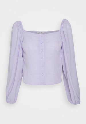 YLVA BLOUSE - Blusa - lilac solid
