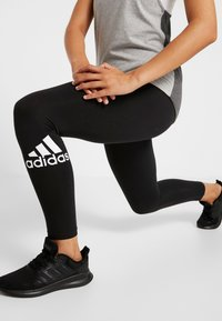 adidas Performance - Tights - black/white - 3