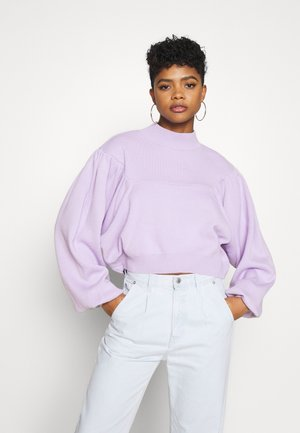 BALLOON SLEEVE  - Jumper - lilac