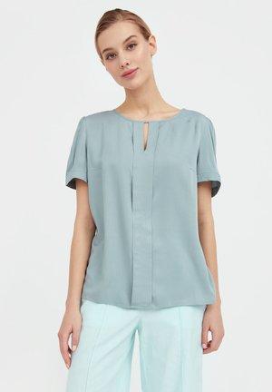 Blouse - grey green