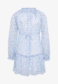 Miss Selfridge Petite - TIERRED SMOCK DRESS - Day dress - blue - 1