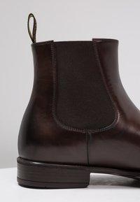 Doucal's - AUGU - Kotníkové boty - testa di moro - 5