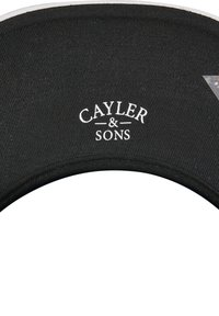 Cayler & Sons - CAYLER & SONS ACCESSOIRES C&S WL MUNCHEL CAP - Cap - black/white - 3