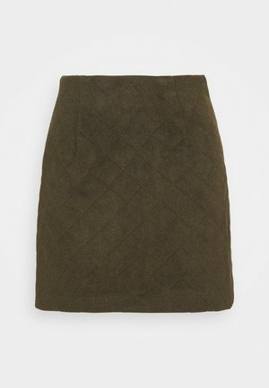 YASSAROJIN SHORT SKIRT ICON - Mini skirt - black olive
