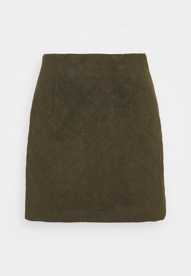 YASSAROJIN SHORT SKIRT ICON - Minirok - black olive