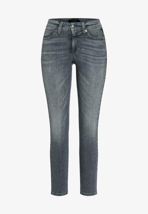 Slim fit jeans - grey dark d used