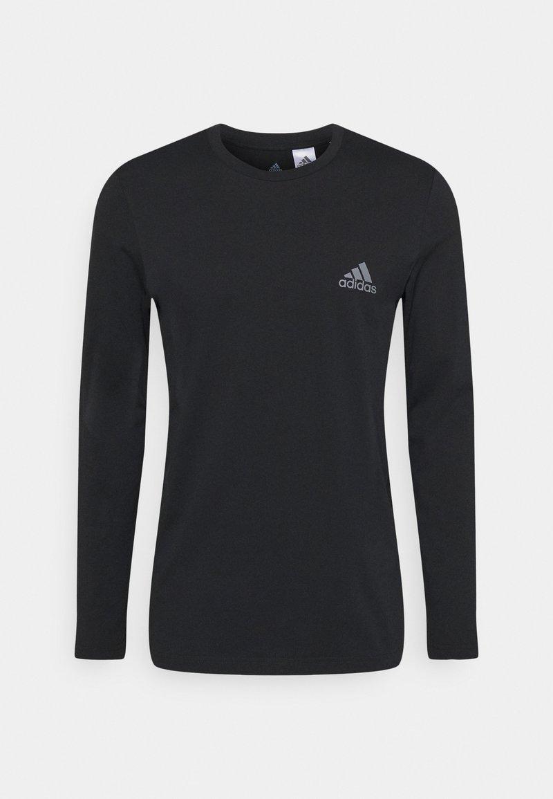 adidas Performance - T-shirt à manches longues - black
