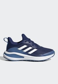 adidas Performance - FORTARUN RUNNING SHOES UNISEX - Neutral running shoes - victory blue/ftwr white/focus blue - 4