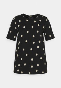 Marks & Spencer London - STRAIGHT TEE - Triko s potiskem - black - 0