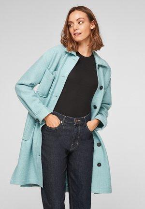 Classic coat - light green