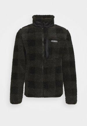 WINTER PASS™ PRINT FULL ZIP - Fleece jacket - black