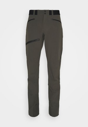 LIGHT PANTS - Trousers - black/olive