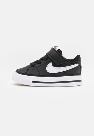 COURT LEGACY UNISEX - Sneakersy niskie - black/white/light brown