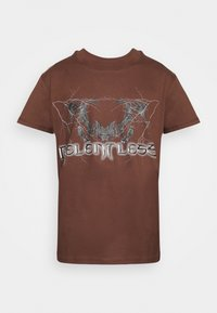 Night Addict - T-shirt imprimé - brown - 5