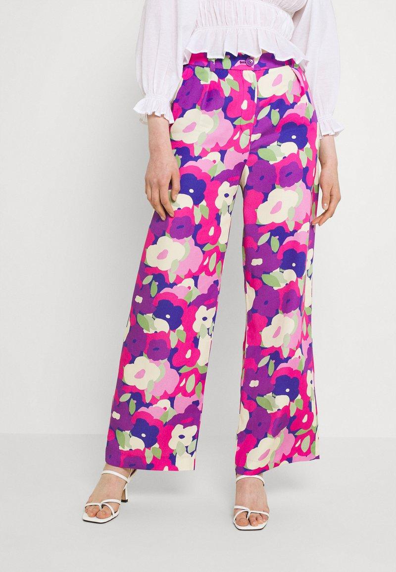 Monki - Bukse - lilac purple bright