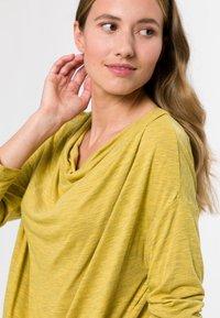 zero - Long sleeved top - light mustard melange - 3