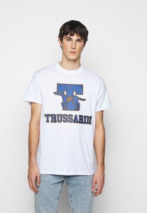 PURE - Print T-shirt - white