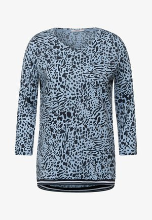Long sleeved top - blau