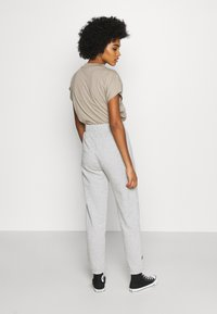 NEW girl ORDER - CONVERSATION JOGGERS - Tracksuit bottoms - grey - 2
